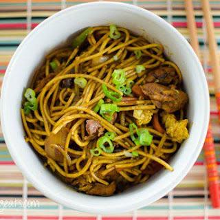 Chicken Singapore Noodles.