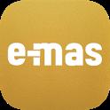e-mas: Aplikasi jual beli & cek harga emas terkini icon