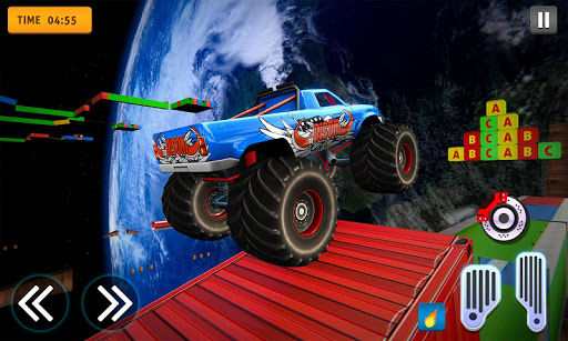 Download Crazy Off Road Stunts Extreme Monster Stunt Car For Free