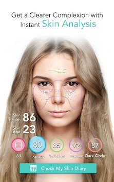 YouCam Grims: Pašbildes Makeover APK screenshot thumbnail 4