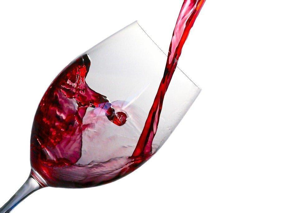 Wine, Splash, Glass, Red, Alcohol, Drink, Liquid