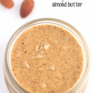 Easy Blender Almond Butter