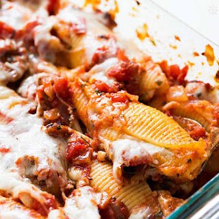 Mint Ricotta Stuffed Shells