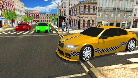 New York Taxi Driving Game 2018: City Cab Driver - náhled
