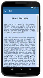 MercyMe Music+Lyrics. - náhled