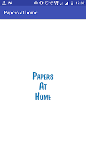 Papers At Home - náhled