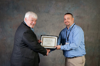 Photo: 1-Year Safety Award | Irving Materials, Inc. - Connersville, Chad Sherwood