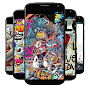 Wallpaper Graffiti Keren APK icon