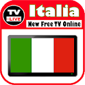 Italia TV Live - All free TV channels icon