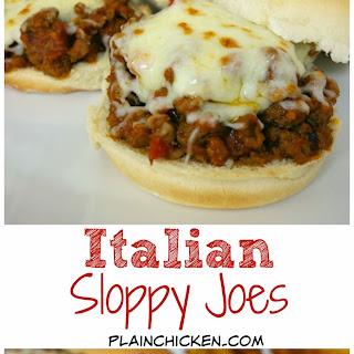 Italian Sloppy Joes