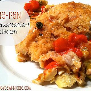 One-Pan Mediterranean(ish) Chicken