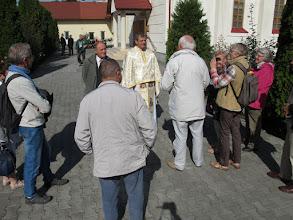Photo: Rou1P33-151004P.Farcas dernière discussion avant départ, Targu Mures IMG_9165