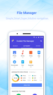 Hocket File Manager - explorer, clean & transfer - náhled
