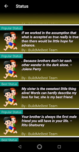 Brother Quotes in English - 1000+ Status & Caption App