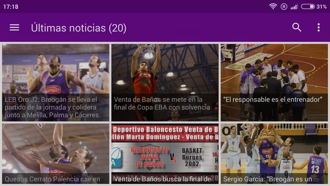 AppBaloncestoconp- screenshot