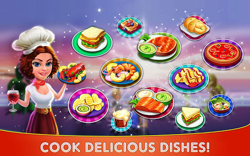 Cooking Cafe u2013 Restaurant Star : Chef Tycoon 2.5 screenshots 9
