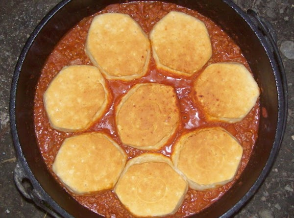 Baked Sloppy Joe With Biscuits Recipe
