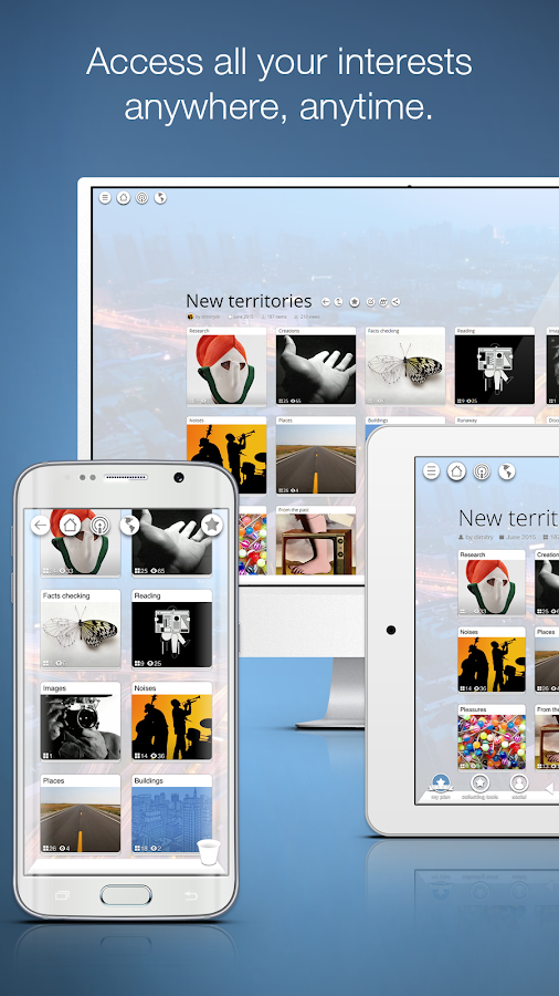 Pearltrees - Organize anything- screenshot