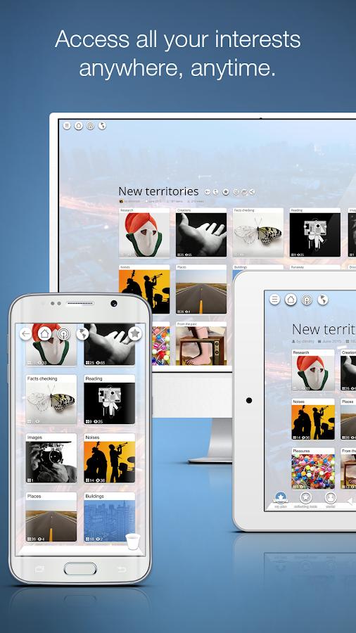 Pearltrees - screenshot