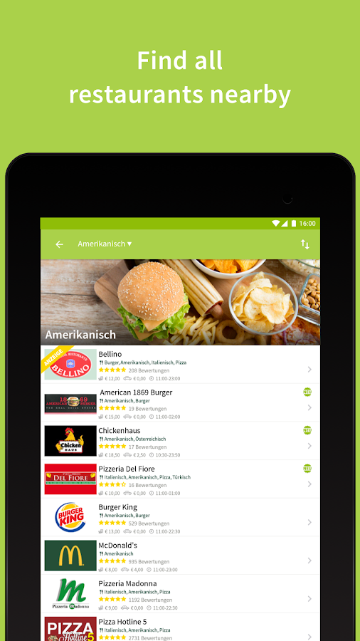 Mjam.at - Order food online- screenshot