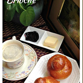 This Bread Is Special… French Brioche (法国僧侣面包,奶头面包)