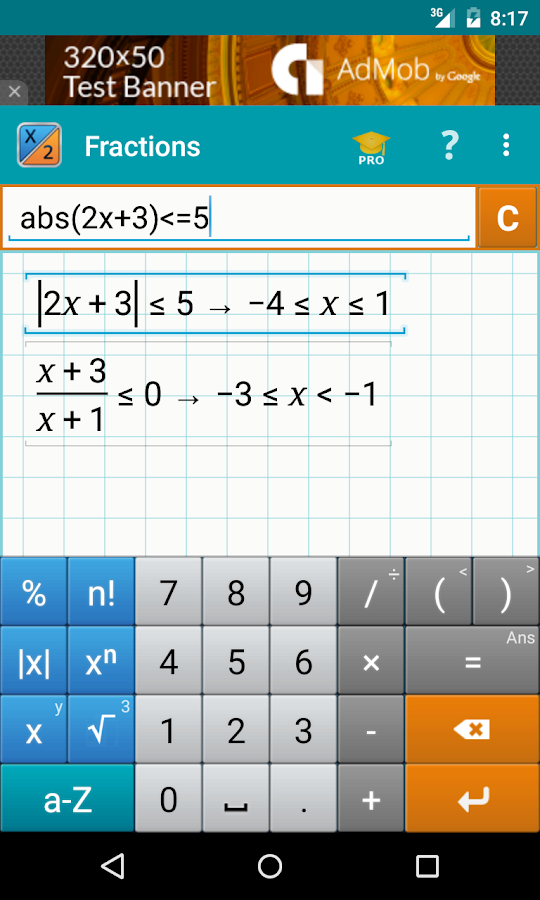 Fraction calculator math android apps on google play fraction calculator math screenshot ccuart Gallery
