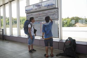 Photo: GWに休学中のオーシマ君と会うため尾瀬へ行ってきました。 早速成田空港からの電車を間違える。