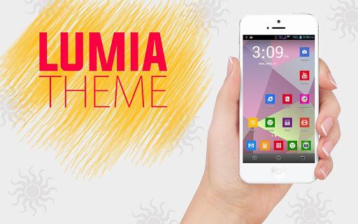Lumia Launcher and Theme