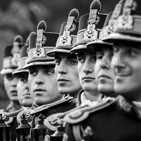 Men of honor by Cretu Stefan Daniel - Professional People Military ( romans, head, people, man, military )