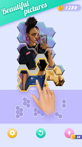 Block Jigsaw - Free Hexa Puzzle Game apkpoly screenshots 2