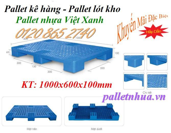 pallet nhựa 1000x600