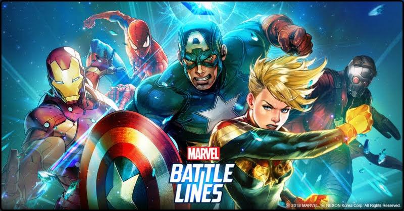 [MARVEL Battle Lines] รวมพลังฮีโร่จากมาเวล!
