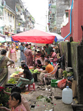 Photo: Year 2 Day 60 - Another Market Scene in Yangon