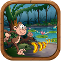Jungle Kong Monkey Banana king icon