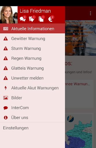 Wetterwarnungen - u00d6sterreich 6.233 screenshots 2