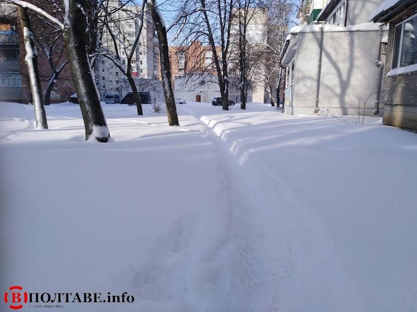 Полтаву вхурделило: ранок у місті після сильної негоди (ФОТО, ВІДЕО), фото-6