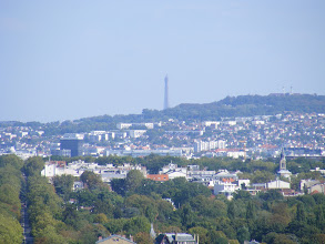 Photo: This familiar landmark peeking above an intervening hill should need no introduction.