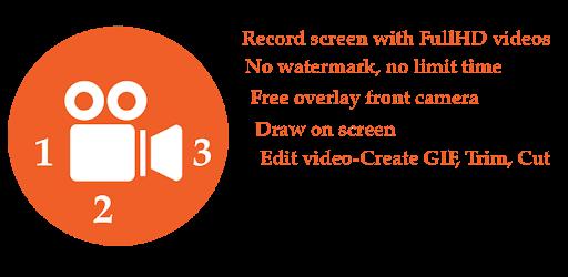 123 Screen Recorder, Livestream .APK Preview 0