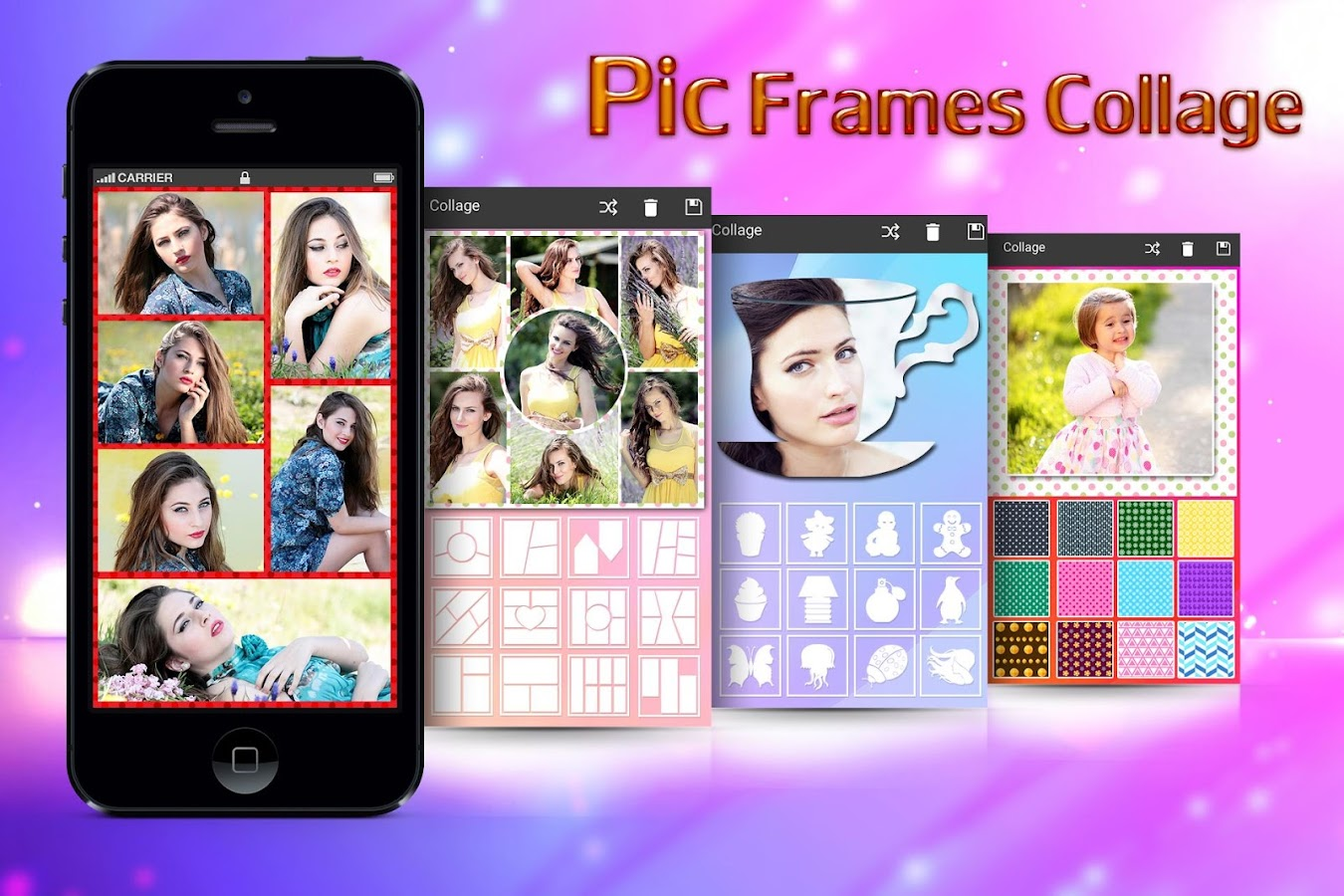 Pic Frames Collage- screenshot