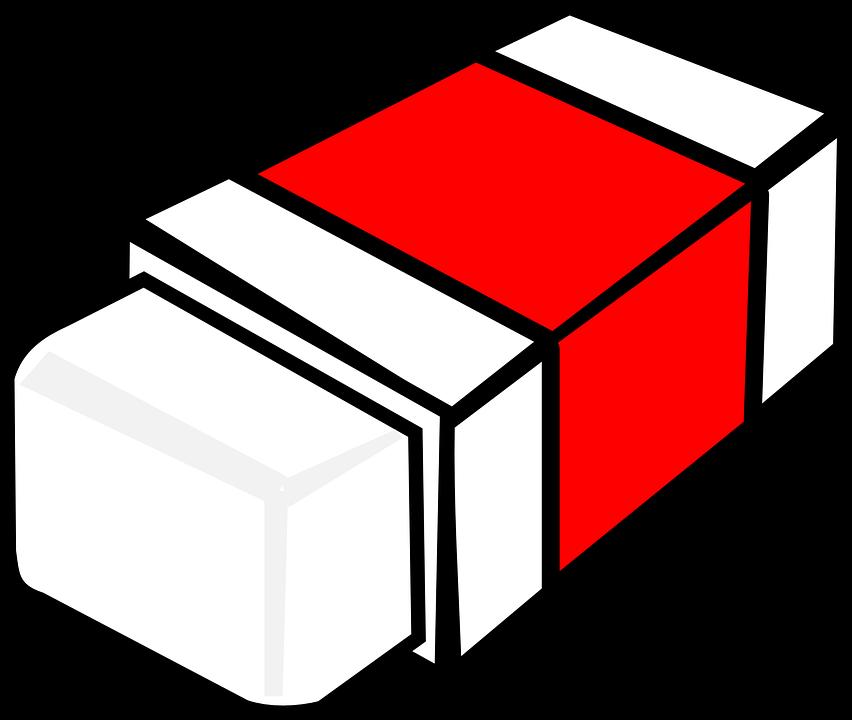 Free vector graphic: Eraser, Rubber, Red, Undo, Office - Free ...
