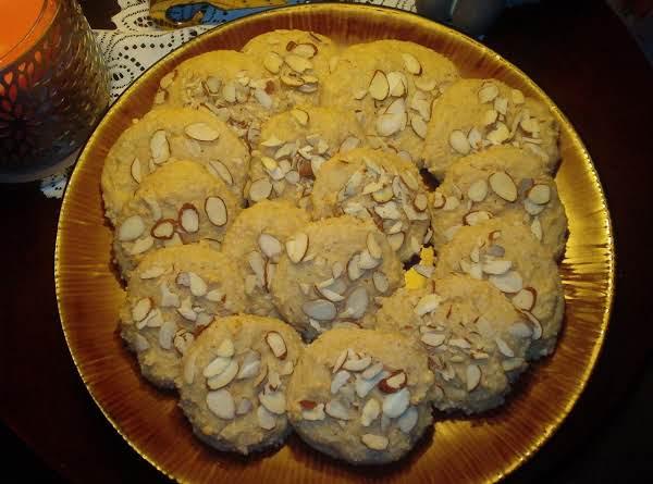 Low-carb Sour Cream Drop Cookies
