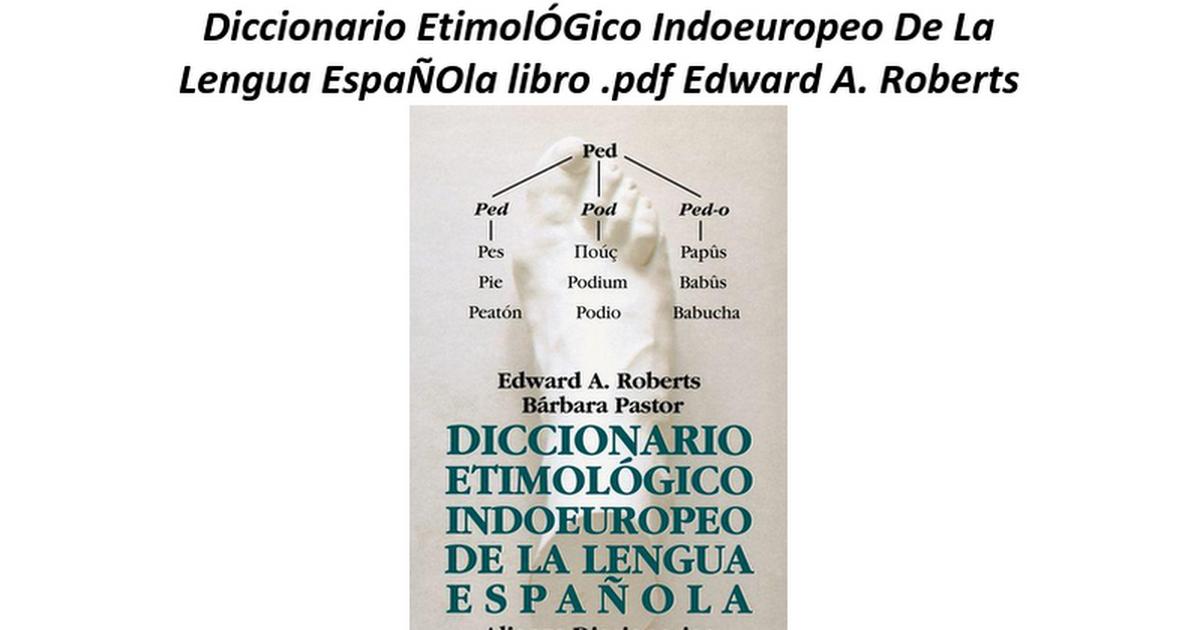 Diccionario etimologico de corominas pdf del