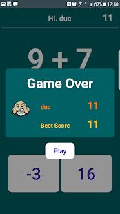 IQ Math , Freaking Math funny game - náhled