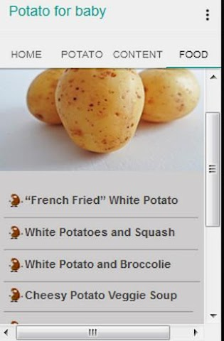 android Potato for Baby Screenshot 3