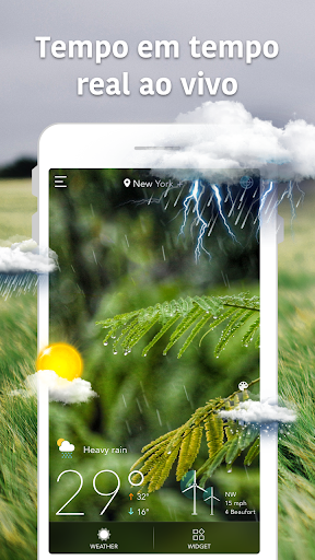 Previsão Meteorológica e Widgets e Radar screenshot 1