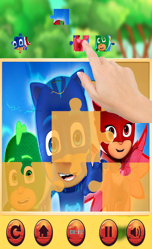 Jigsaw Pj Hero Masks Puzzle Games 1.0 screenshots 2
