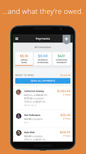 Payable: Contractor Management- screenshot thumbnail