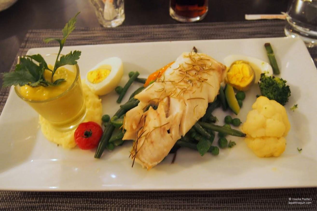 Kabeljauw met aïoli en groenten (Le petit requin)