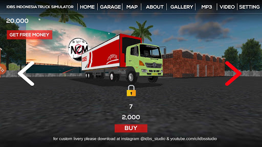 IDBS Indonesia Truck Simulator 3.1 screenshots 2