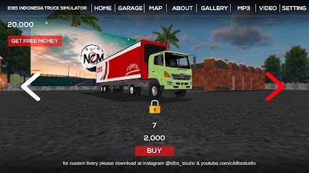 IDBS Indonesia Truck Simulator APK screenshot thumbnail 2